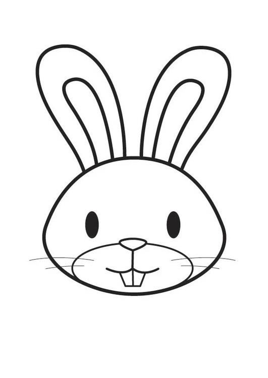 how to draw a bunny face on a child