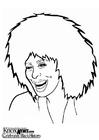 Coloriage Tina Turner