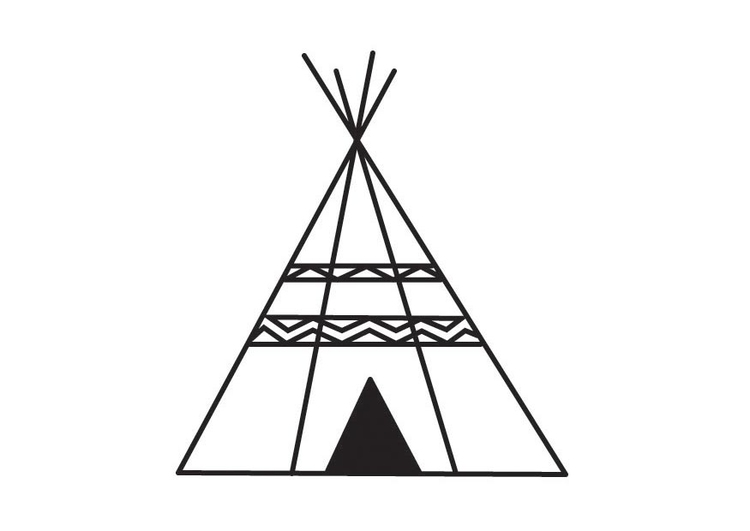 Coloriage Tipi Img 23167