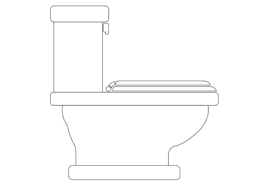 Kleurplaat Wc Coloriage Toilette Coloriages Gratuits 224 Imprimer