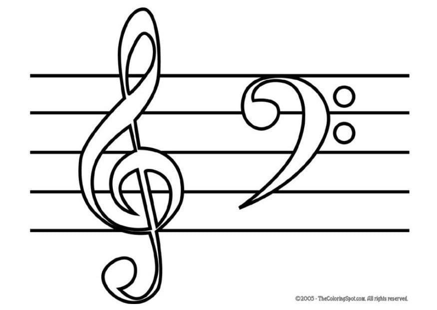 Coloriage Ton Haut Ton Bas Note De Musique Coloriages Gratuits A Imprimer Dessin 5950