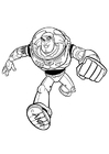 Coloriages Toy Story - Buzz l'�?clair