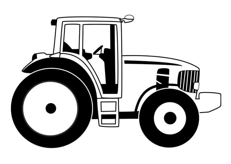 Coloriage tracteur - Coloriages Gratuits à Imprimer ...