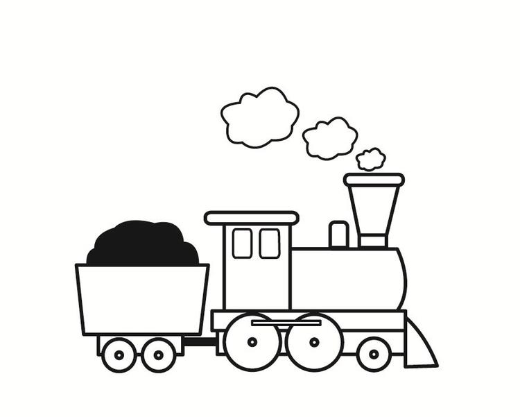 Coloriage Train Coloriages Gratuits A Imprimer