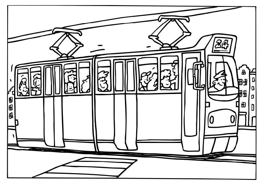 coloriage tram img 6553