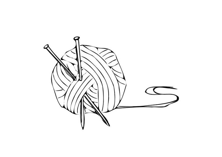 dessin tricot