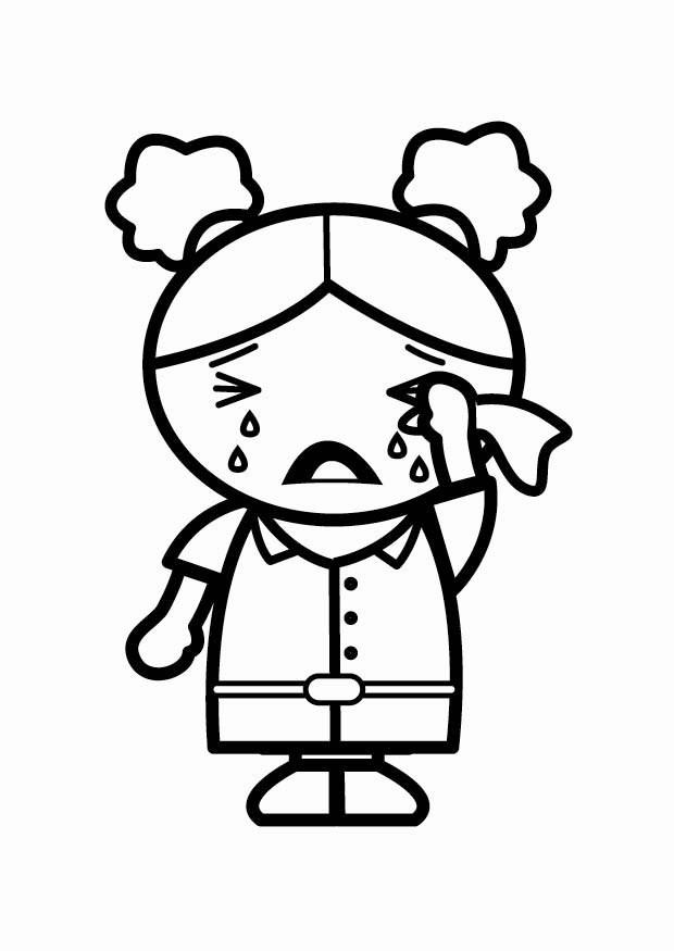 Coloriage triste img 24056 - Dessins triste ...
