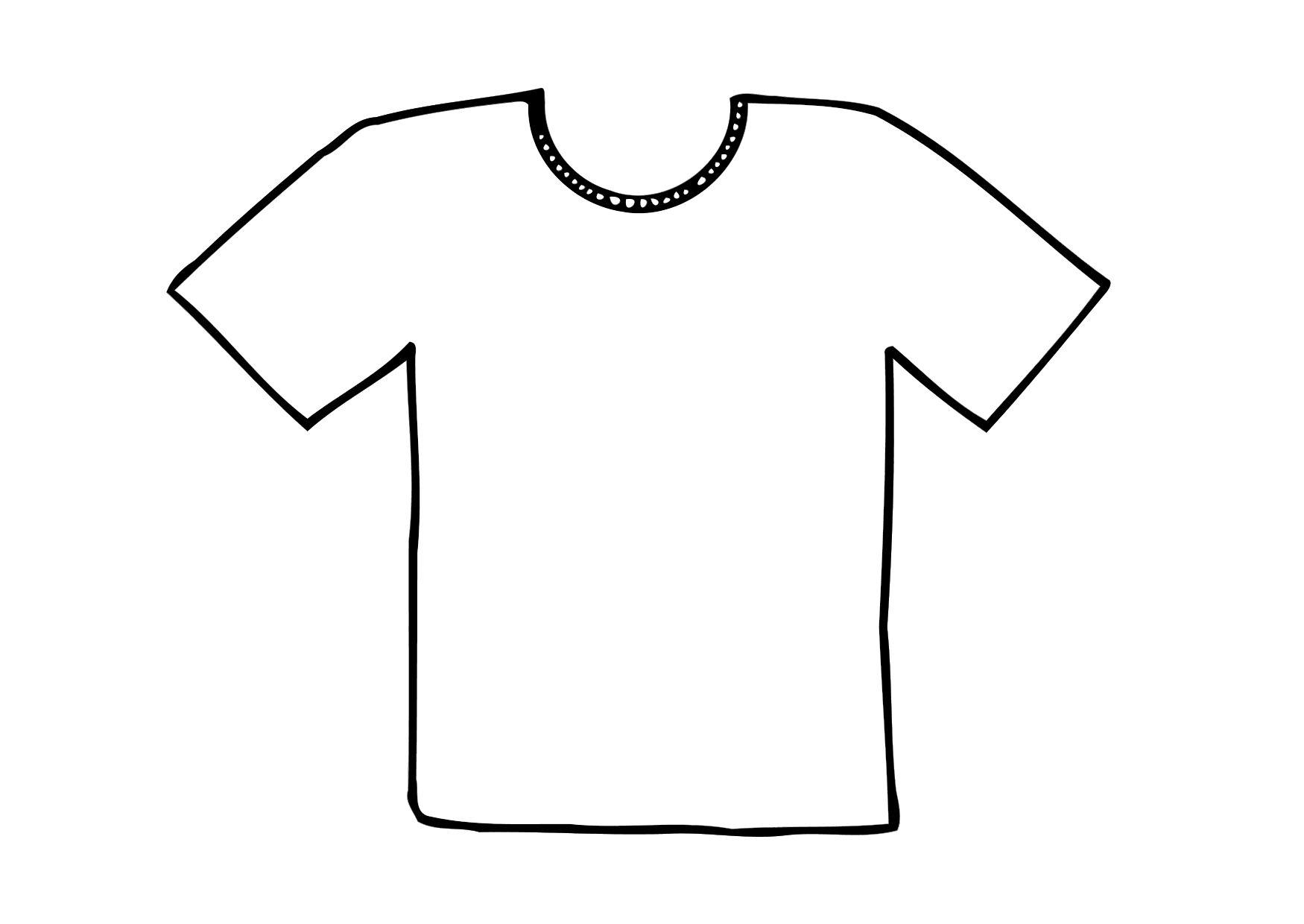 football cookie cutter template - coloriage t shirt img 12295