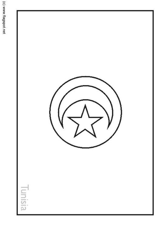 Coloriage tunisie img 6264 - Drapeaux a colorier ...
