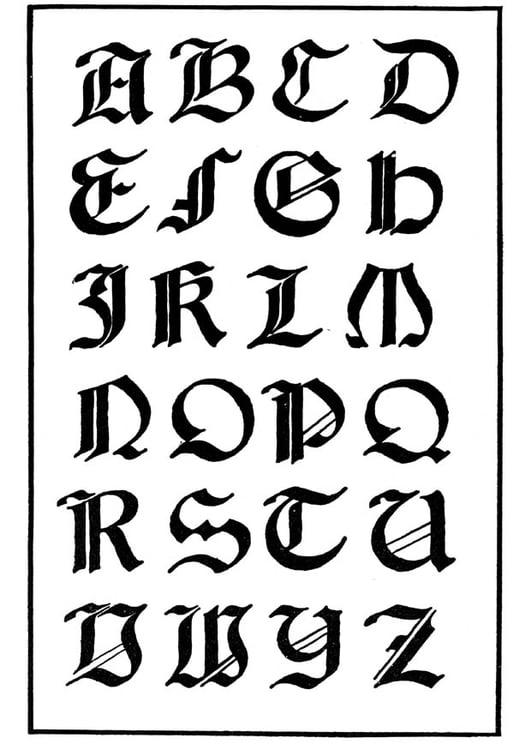 Coloriage type de lettres gothique italien img 11229 coloriage type de lettres gothique italien thecheapjerseys Image collections