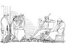 Ulysse et Démodoque