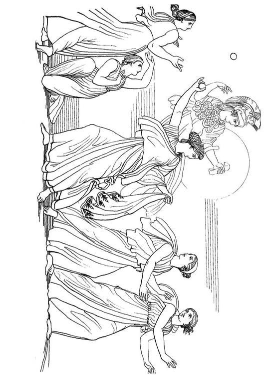 Coloriage Ulysse Nausicaa Img 17488 Images
