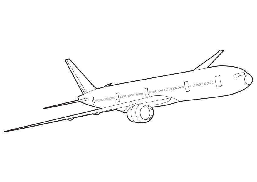 how to draw a small cartoon plane
