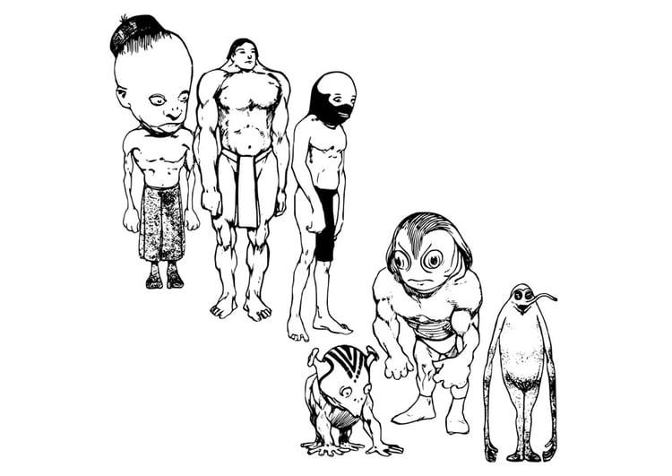 Coloriage Un Extraterrestre Img 22895