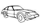 Coloriage une voiture
