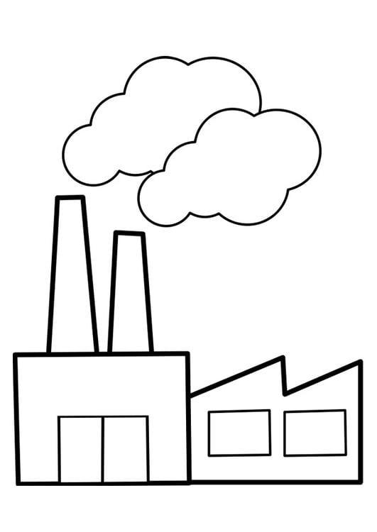 comment dessiner une usine