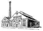 Coloriage usine