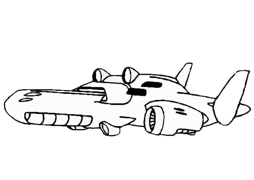 Dessin de star wars a imprimer - Dessin vaisseau spatial ...