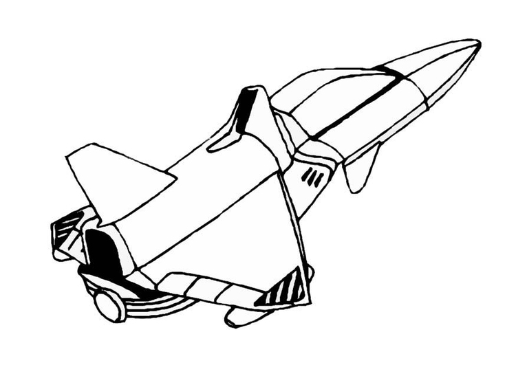 Coloriage vaisseau spatial img 8856 - Dessin vaisseau spatial ...