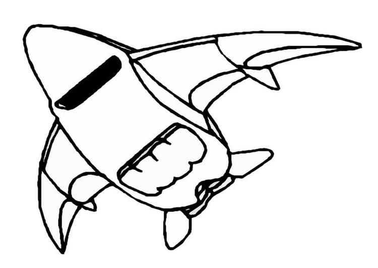 Coloriage vaisseau spatial img 8861 - Dessin vaisseau spatial ...