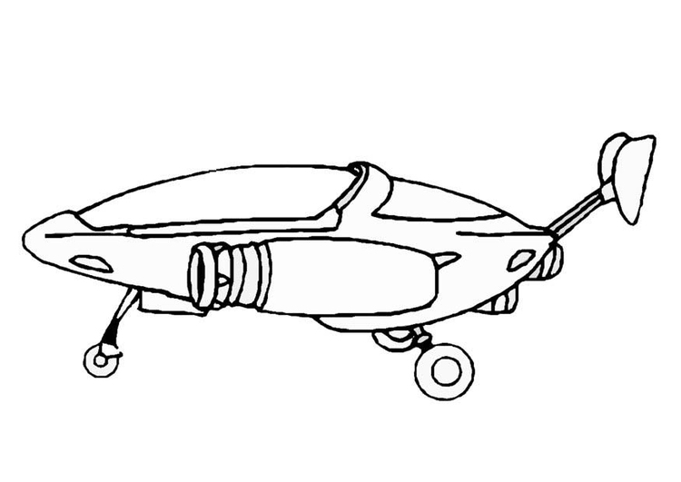 Coloriage vaisseau spatial img 8864 - Dessin vaisseau spatial ...