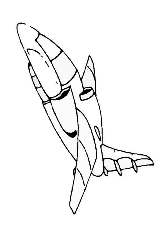 Coloriage vaisseau spatial img 8863 - Dessin vaisseau spatial ...