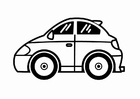 Coloriage véhicules miniatures