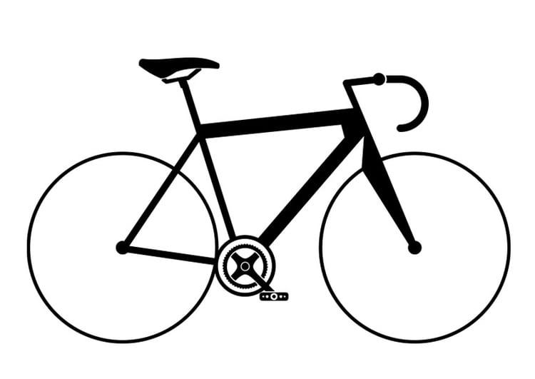Coloriage v lo de course img 27506 - Coloriage de cycliste ...
