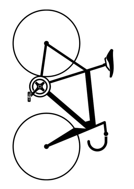 Coloriage Vélo De Course Img 27506