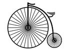 Coloriage vélo