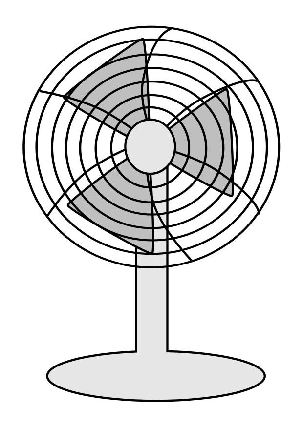 electric fan coloring pages - photo #16