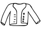 Coloriage veste