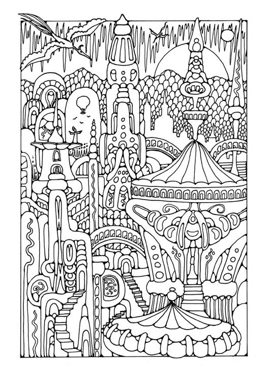 Coloriage ville f erique img 25662 for Nuovo design del paesaggio inghilterra