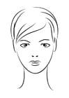 Coloriage visage