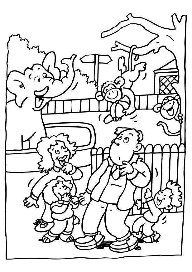 Coloriage visite au zoo img 6481 - Coloriage de zoo ...