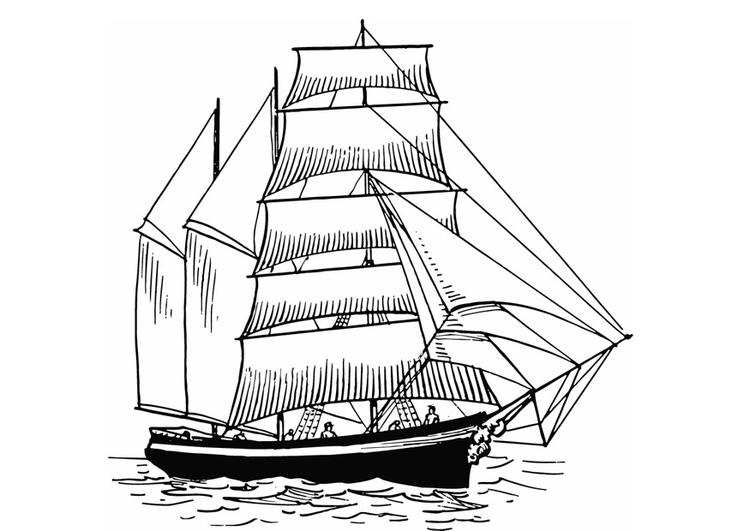 Coloriage voilier img 13308 images - Dessins de voiliers ...