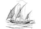 Coloriage voilier