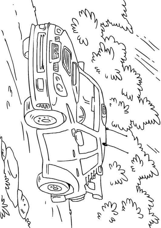 Coloriage voiture de rallye img 27170 - Coloriage voiture de rallye ...