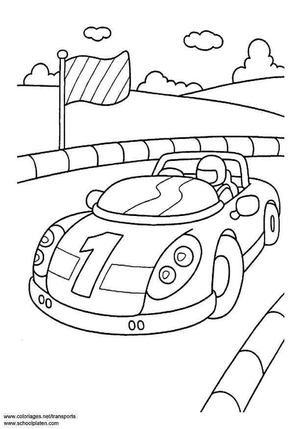 Coloriage voiture de sport img 3094 - Voiture de sport a colorier ...