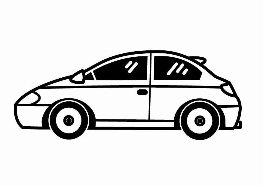 Coloriage voiture img 24086 - Dessin d un car ...