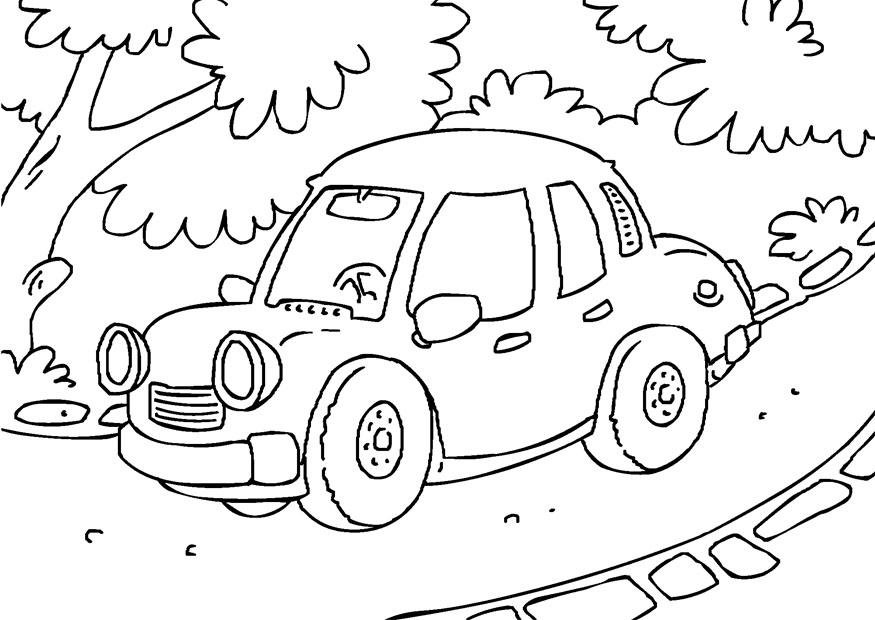 Cartoon Helden Kleurplaat Coloriage Voiture Coloriages Gratuits 224 Imprimer