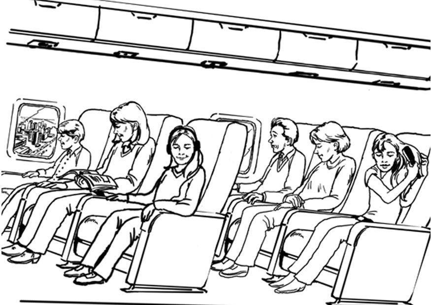 Coloriage voyager avion img 8064 - Voyageur dessin ...