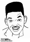Coloriages Will Smith