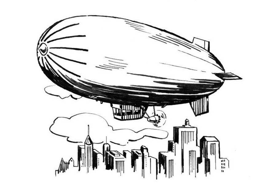 Coloriage Zeppelin Img 18887