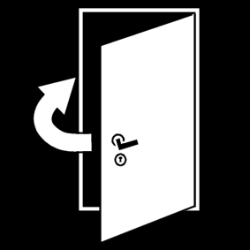 Coloriage fermer la porte img 14564 - Image fermer la porte ...