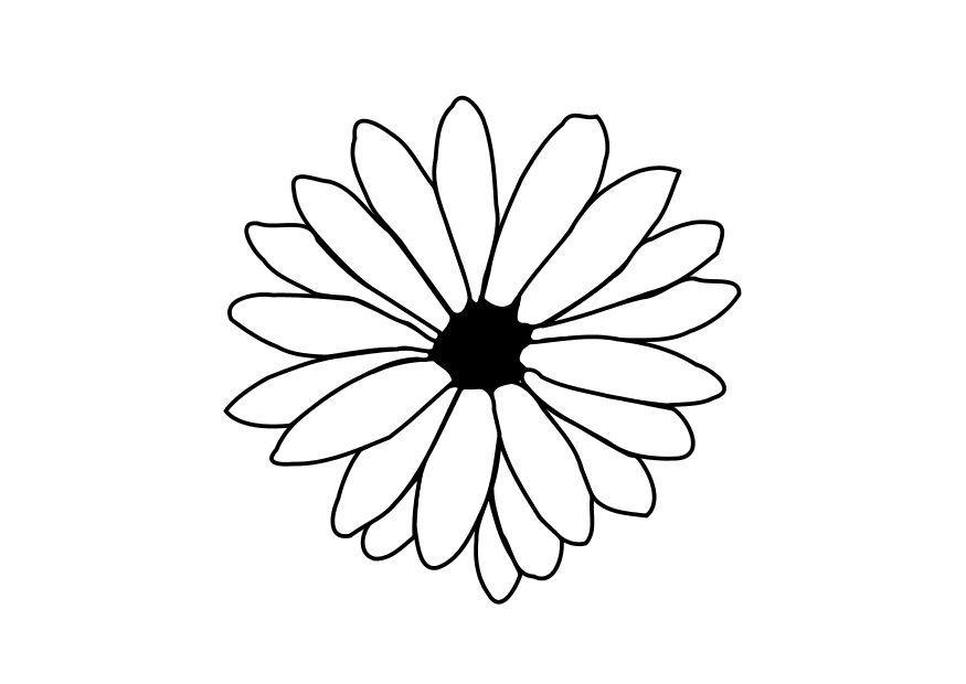 Coloriage p tales fleurs - Coloriage fleur 8 petales ...