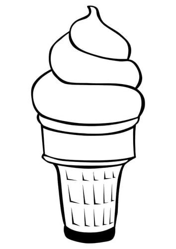 Dessin glace vanille - Vanille dessin ...
