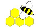 Image abeille - derrière