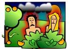 Image Adam et Eve - maleheureux
