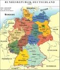 Image Allemagne - carte politique RFA 2007